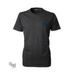 DogCoach Brand T-Shirt Anthrazitgrau-Petrol