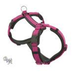Dogfellow Brustgeschirr-Easy Schwarz-Pink Gr. XS