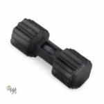 Mighty Rex Dumbell Apportel schwarz Gr. M 17,5*7,5*7,5cm
