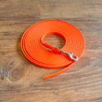 Schleppleine Biothane neon orange 9mm / 6m