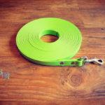 Schleppleine Biothane Apfel grün 16mm / 8m