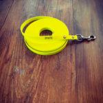 Schleppleine Biothane neon gelb 16mm / 8m