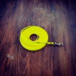 Schleppleine Biothane neon gelb 9mm / 8m