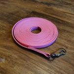 Schleppleine Biothane pastel pink 9mm / 5m